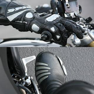 como andar de moto