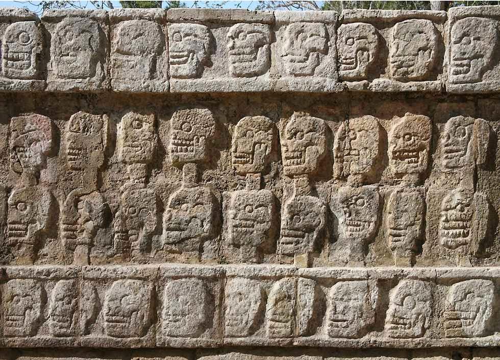 Tzompantli - Meksiko