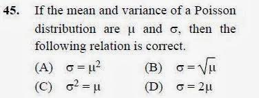 2012 December UGC NET in Environmental Science, Paper II, Question 45
