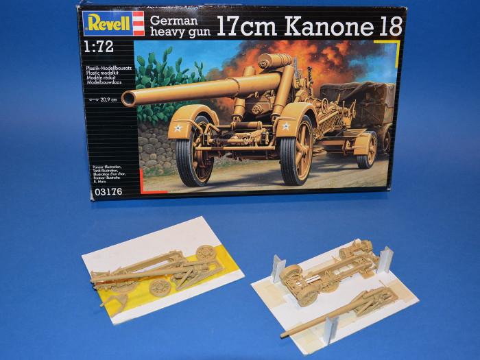 Revell 1:72 17cm Kanone 18 03176
