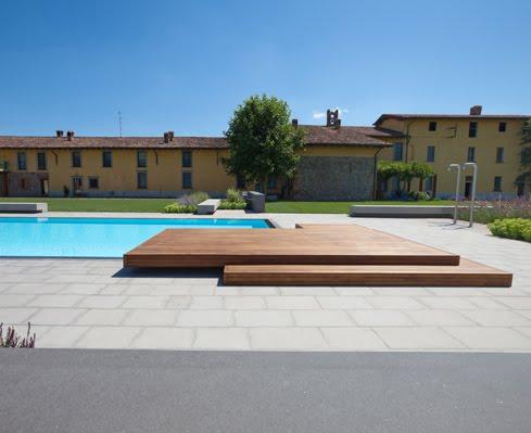 La piscina in giardino for Piscine dinosaure