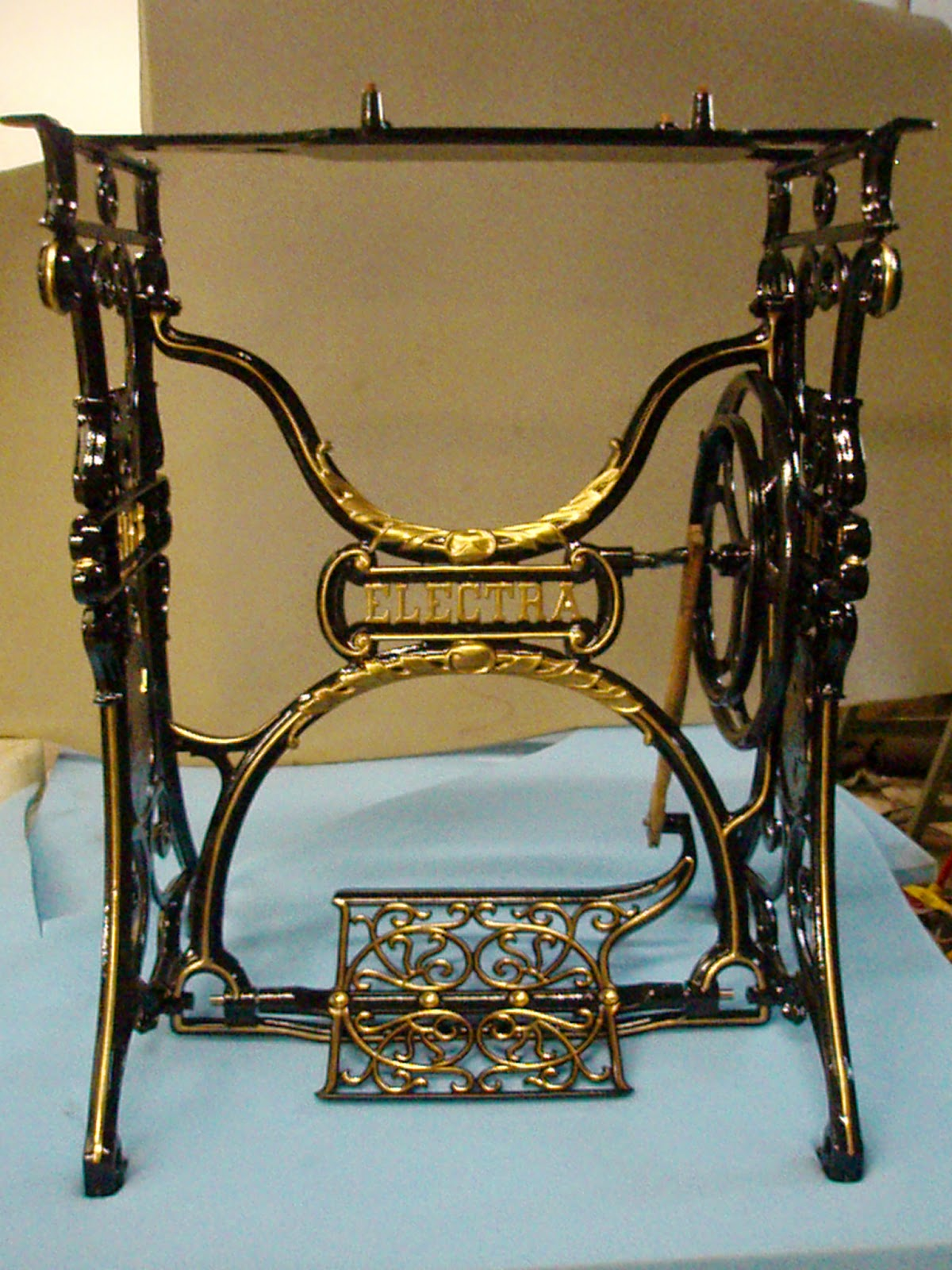 Restauraciones Máquinas de coser Antiguas: Máquina WERTHEIM