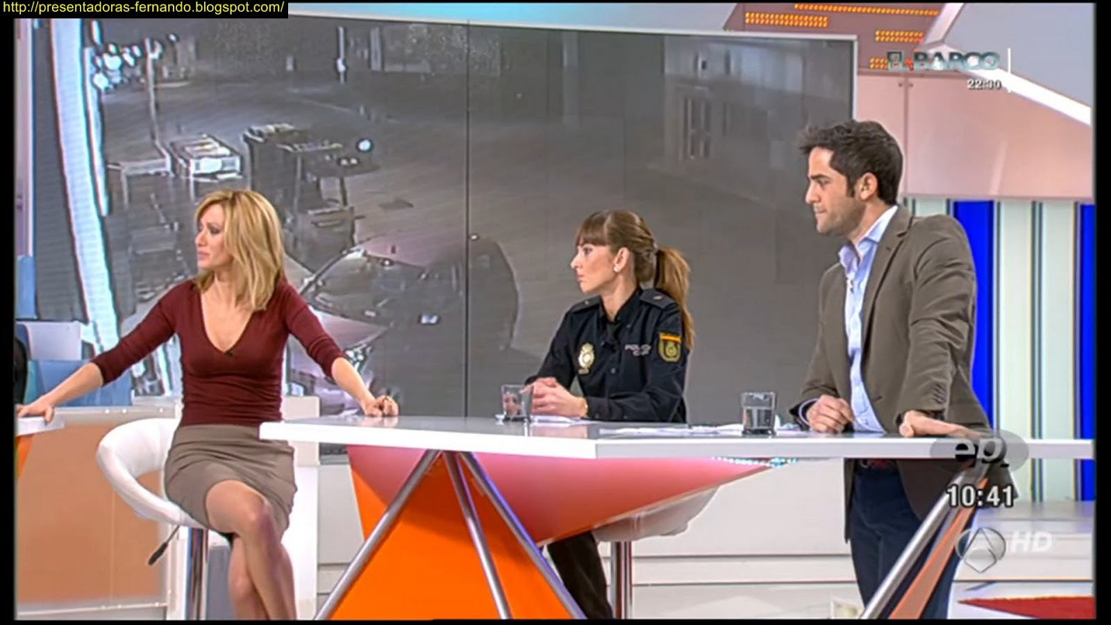 Presentadoras fernando susana griso espejo publico 10 1 2013 - Espejo publico hoy ...
