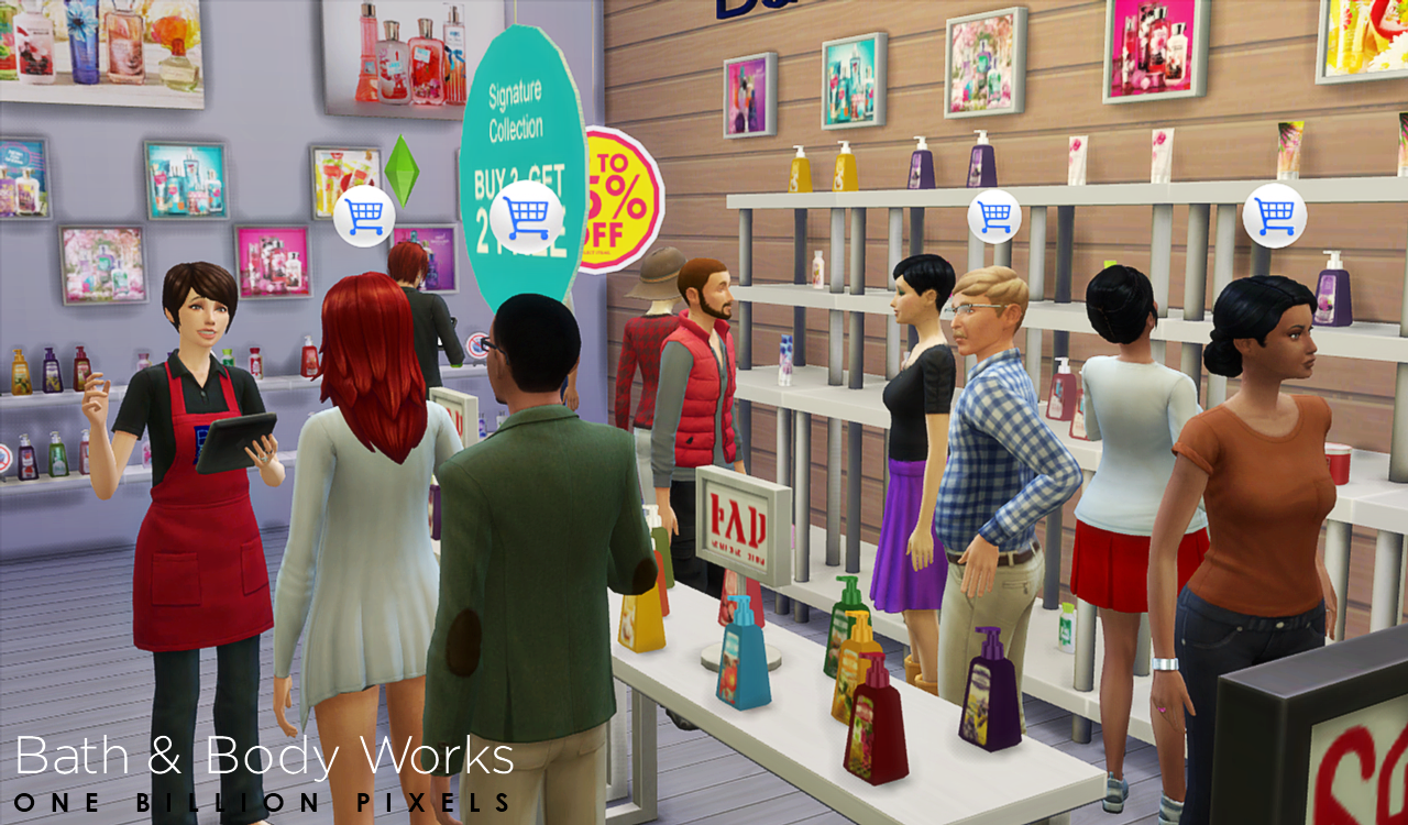 My sims 4 blog bath amp body works shop amp set v2 sellable and