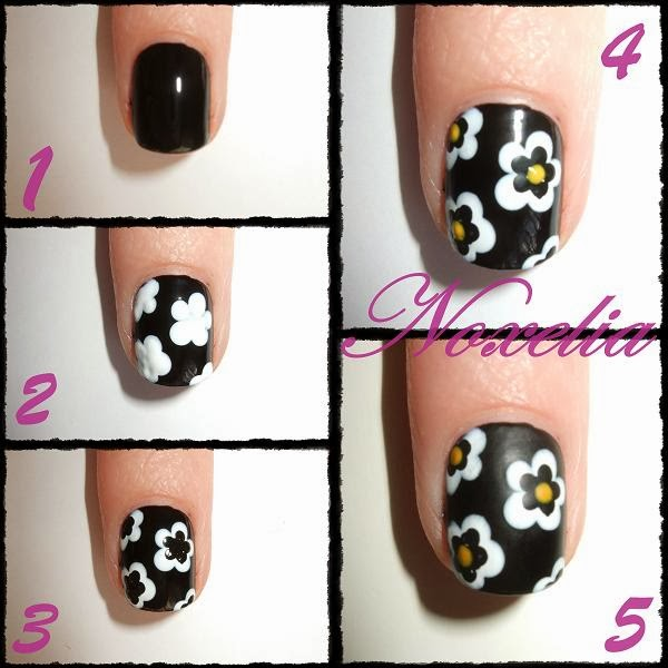 Noxelia: Stamping nail art: Look de uñas Nº 155. Mate