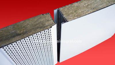 Panel acústico aislante y absorbente - ACUSTIMÓDUL