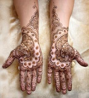 Arabic Henna Designs For Working Women