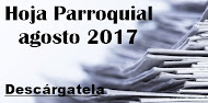 Hoja Parroquial agosto 2017