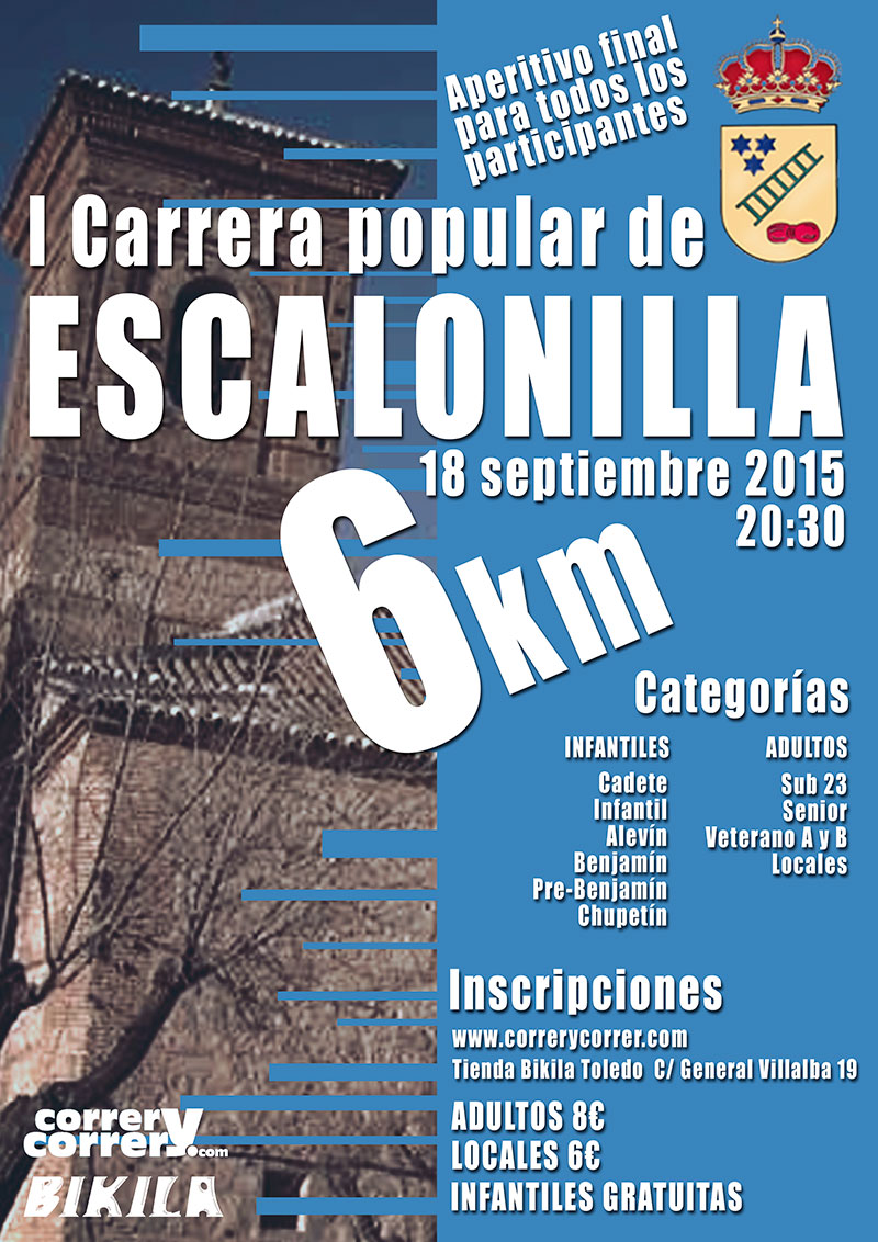 I Carrera Popular de Escalonilla