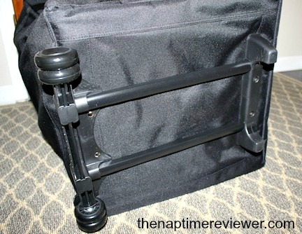one step ahead wheel easy car seat travel bag review the naptime reviewer. Black Bedroom Furniture Sets. Home Design Ideas