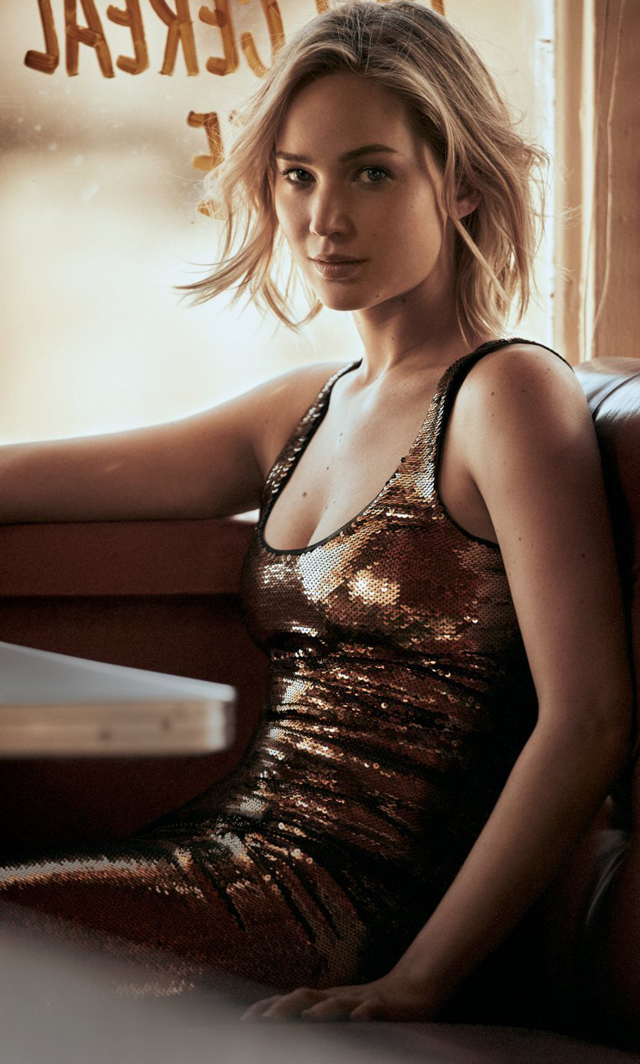 Jennifer Lawrence en Vogue Magazine