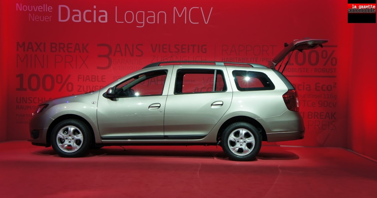 dacia logan mcv break autos weblog. Black Bedroom Furniture Sets. Home Design Ideas