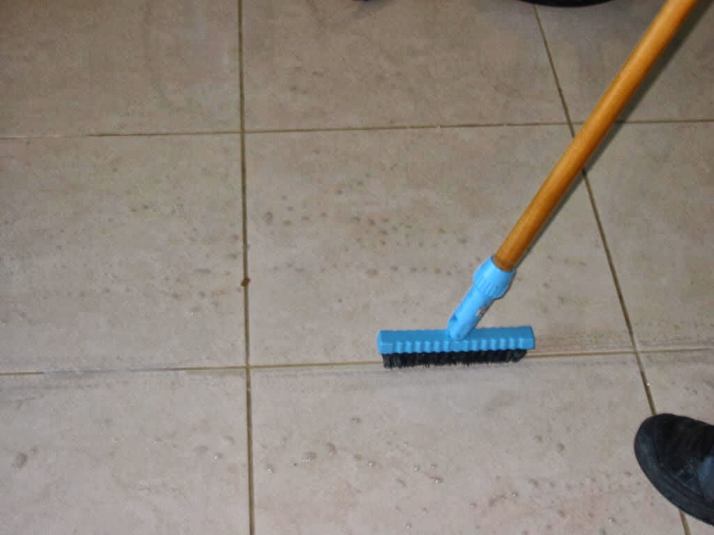 Remove all stains how to remove grease stains from grout grout used in most tile floors and counters in the kitchen and bathroom is a beautiful but porous material making it prone to all kinds of stains dailygadgetfo Choice Image