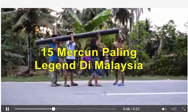 15 Jenis Mercun Paling Legend Di Malaysia