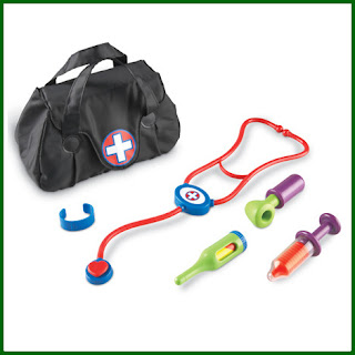 Play doctors kit contents