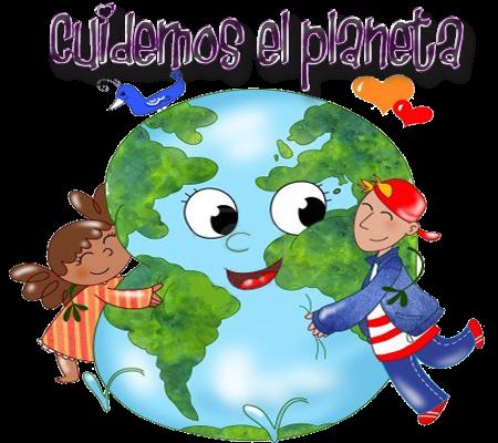 Resultado de imagen de cuidar el planeta para niños