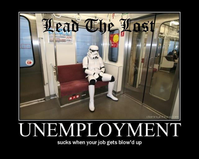 unemployed and serving others