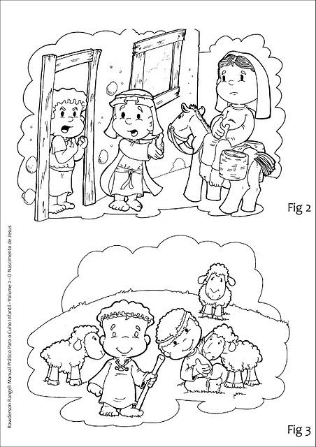 Actividades Para Colorear Del Nacimiento De Jesus