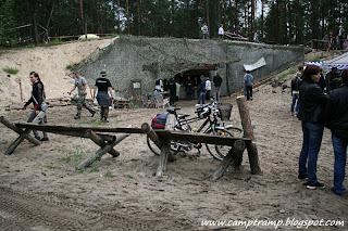 Bunkier Regelbau 120A - Dąbrowiecka Góra
