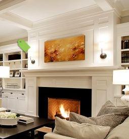 De jong dream house fireplace design final for Prairie style fireplace