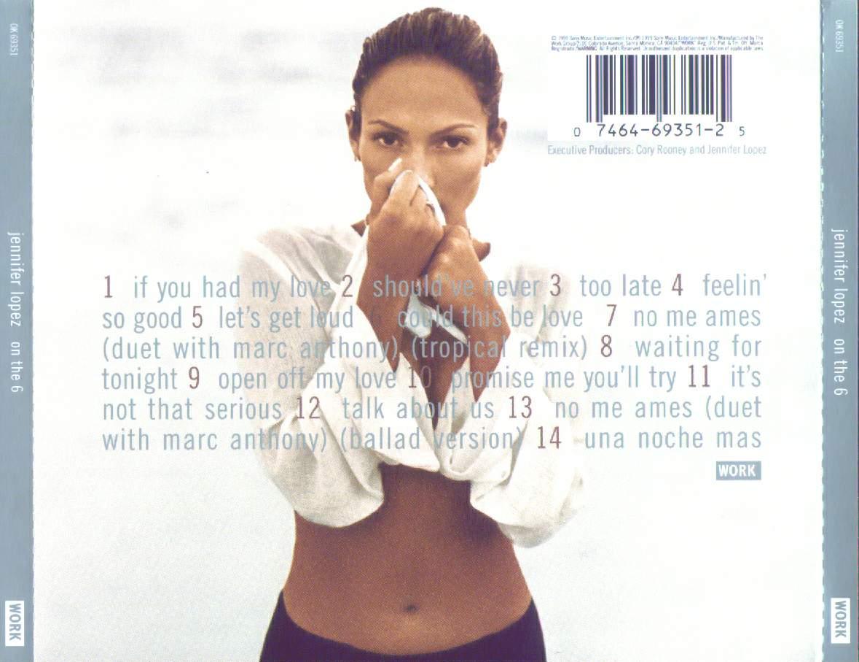 Promo import retail cd singles amp albums jennifer lopez on the 6