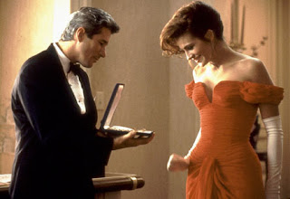 Escena de la película Pretty Woman con Julia Roberts y Richard Gere