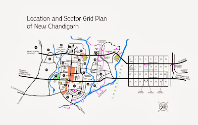 Altus muirwoods location in mullanpur master plan