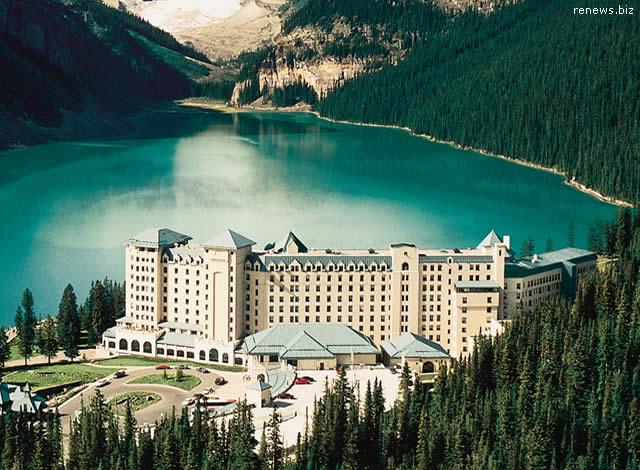 Hotel Fairmont Chateau Lake Louise, Alberta, Canadá