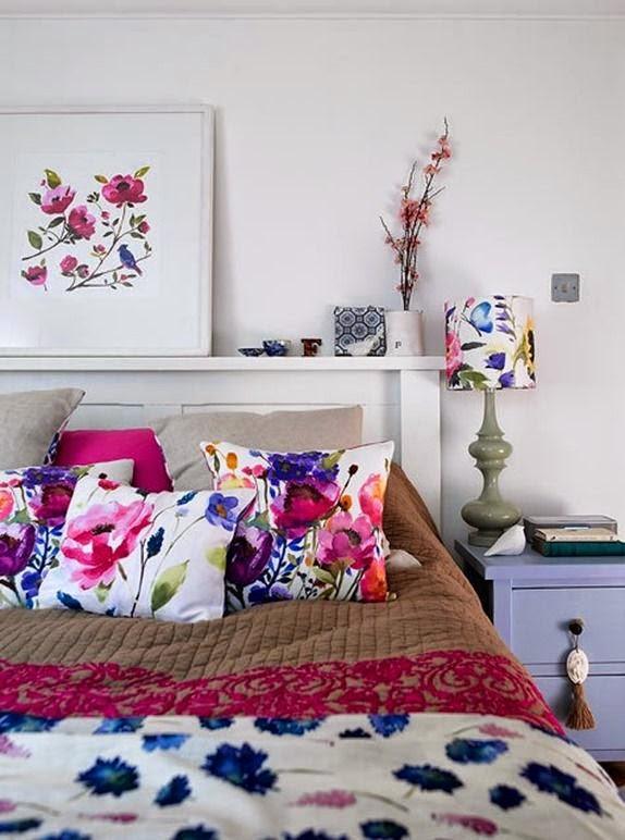 26 Subtle And Delicate Watercolor Home Décor Ideas