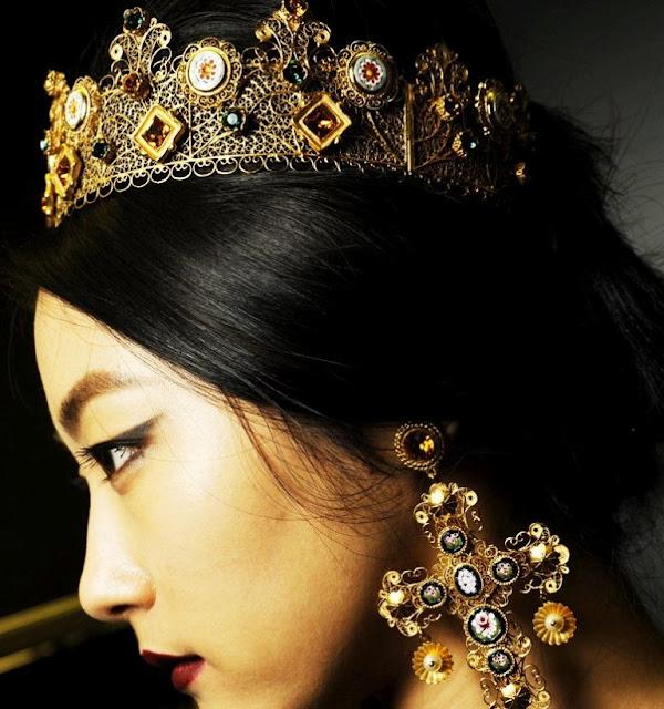 мода может быть еретической? Сейчас в моде богемно-византийский стиль.