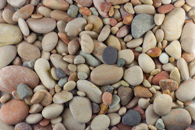 Piedras del río - Stones in the river - Sea pebbles