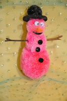 Gumdrop Snowman Ornament