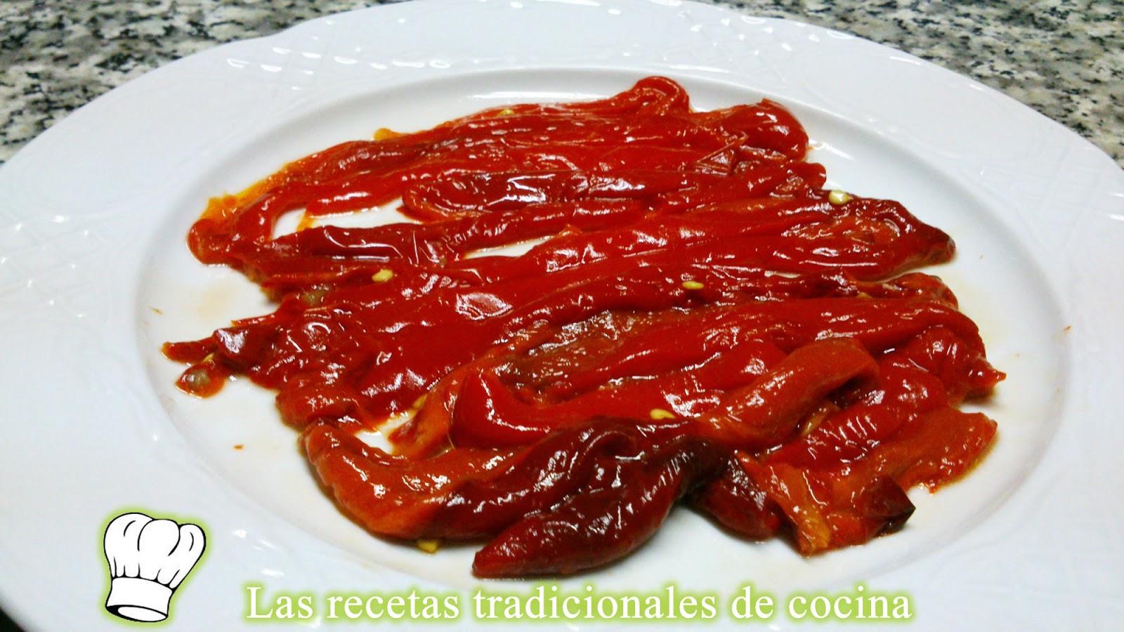 Recetas de cocina con sabor tradicional 2016 car release - Cocinar pimientos asados ...