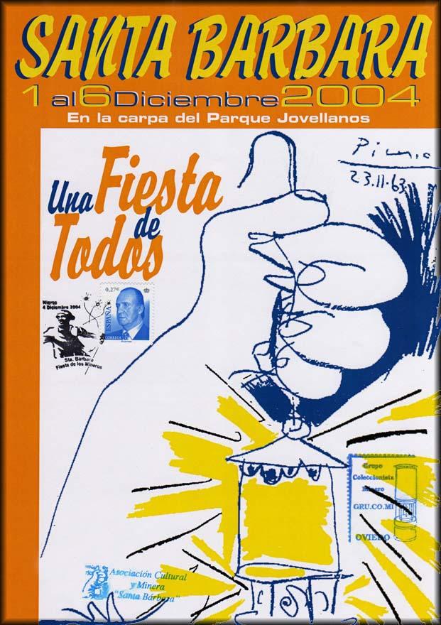 Cartel de la VII Exposición de Coleccionismo minero de GRUCOMI