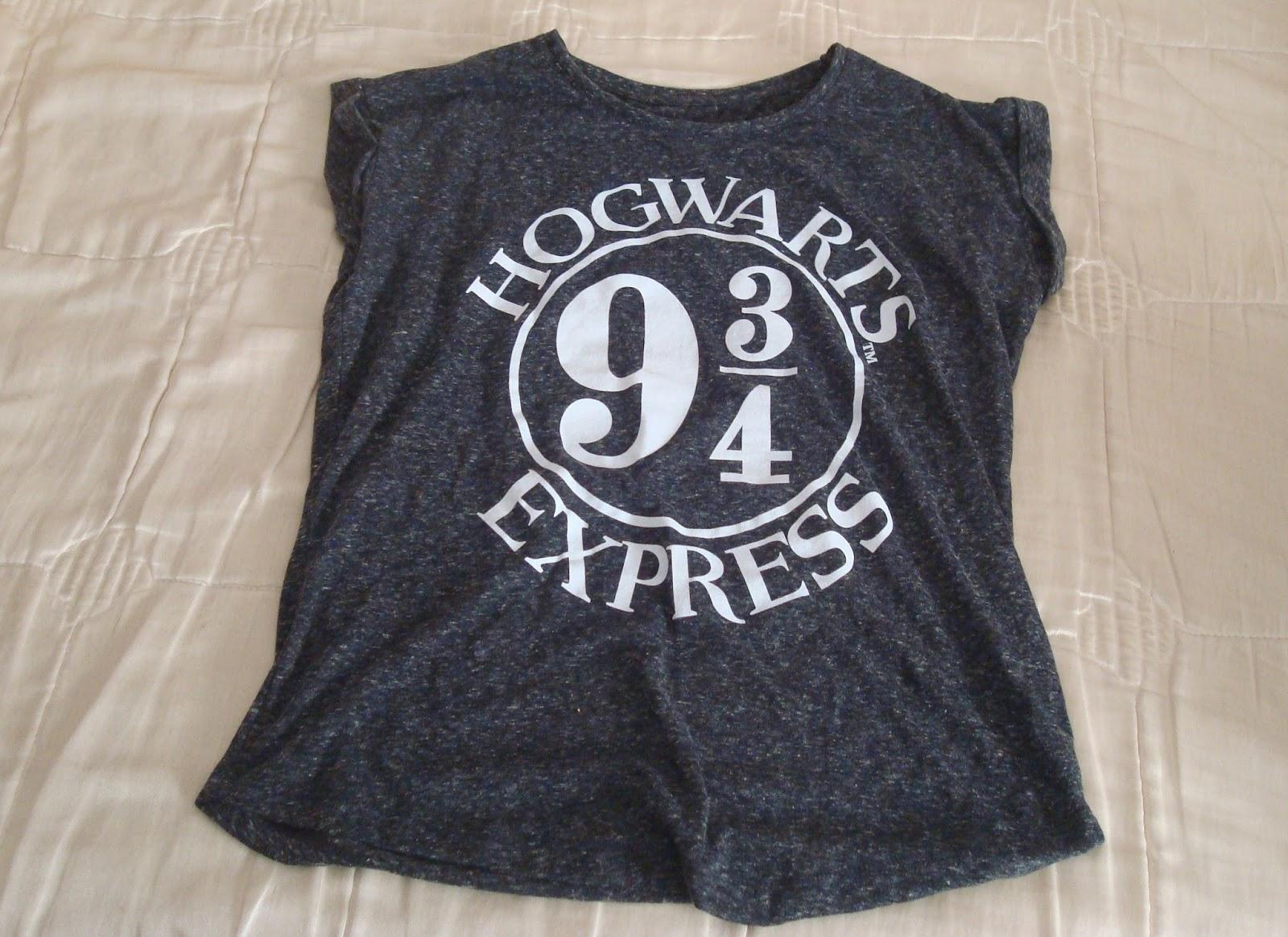 camiseta harry potter hogwarts primark