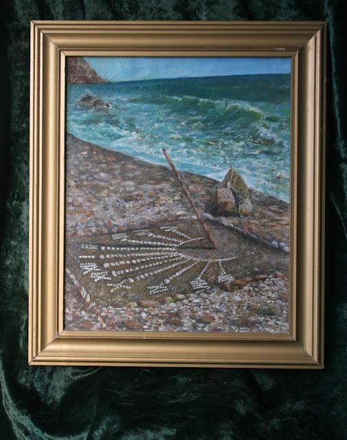 картина Виталия Бабенко Солнечные часы