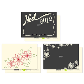 Noel Noted Greeting Card Templates - Stampin' Up!