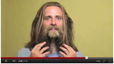 倒轉刮鬍:「倒轉刮鬍」愈刮愈長 最後竟變山頂洞人