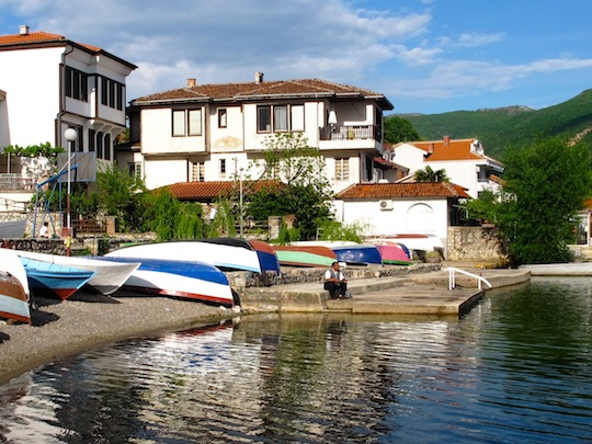 Beach Lake Ohrid