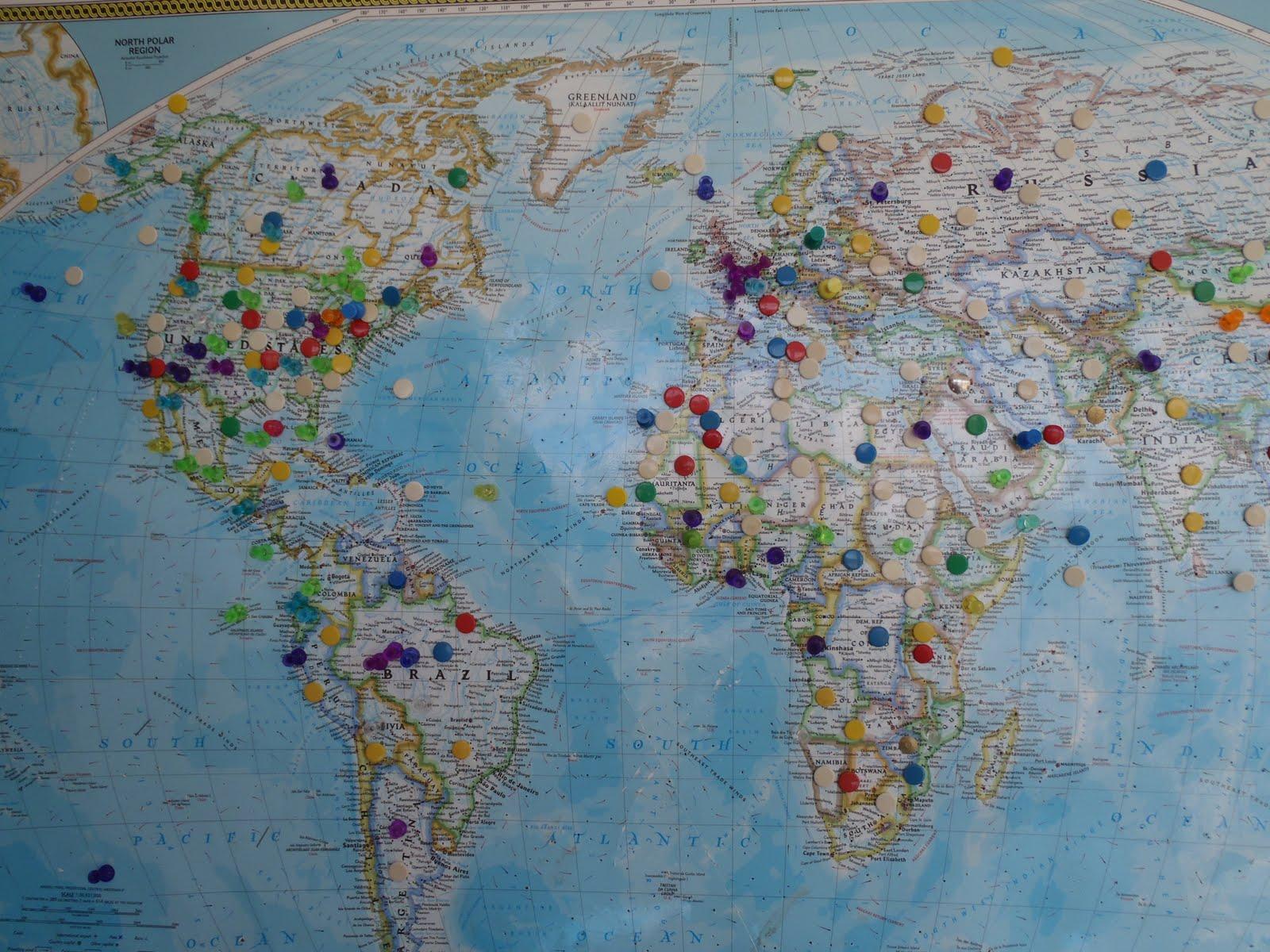Scenic BiteWays – Where Have I Traveled Map