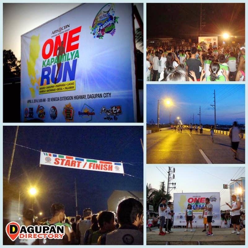 BangusFestival2014 - ABS-CBN One Kapamilya Run