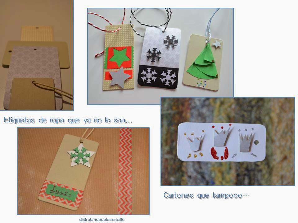 etiquetas para regalos upcycling
