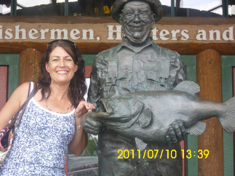 Momma at Bass Pro in Springfield, MO!