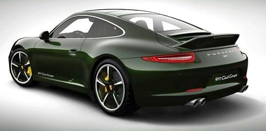 Edición especial del automóvil Porsche 911, 911 Club Coupé