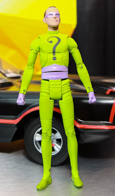Mattel 2013 Toy Fair Display Pictures - Classic 1960's Batman figures - The Riddler