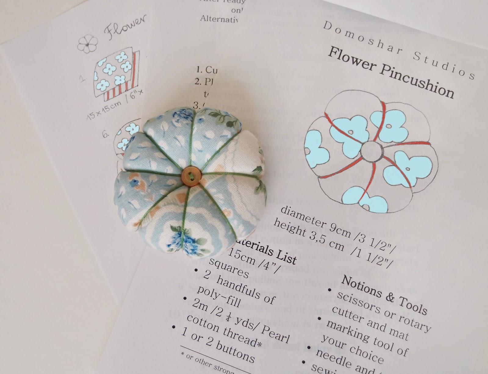 Първият ми модел - игленик-цвете