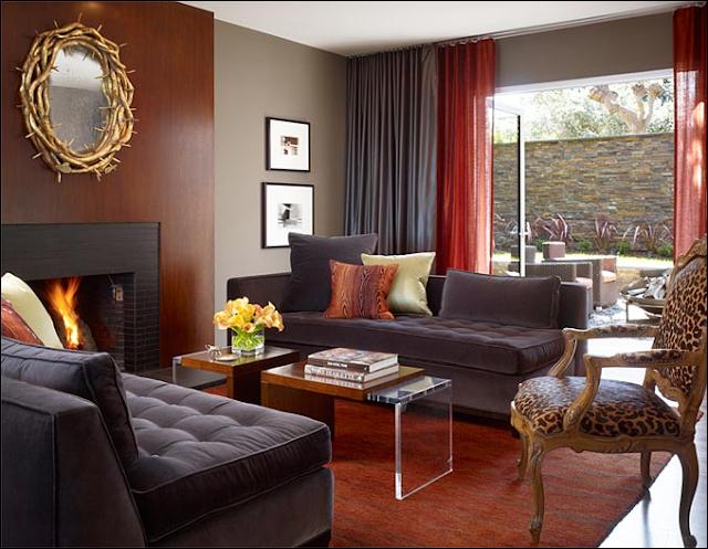 Masculine Living Rooms Room Design Ideas