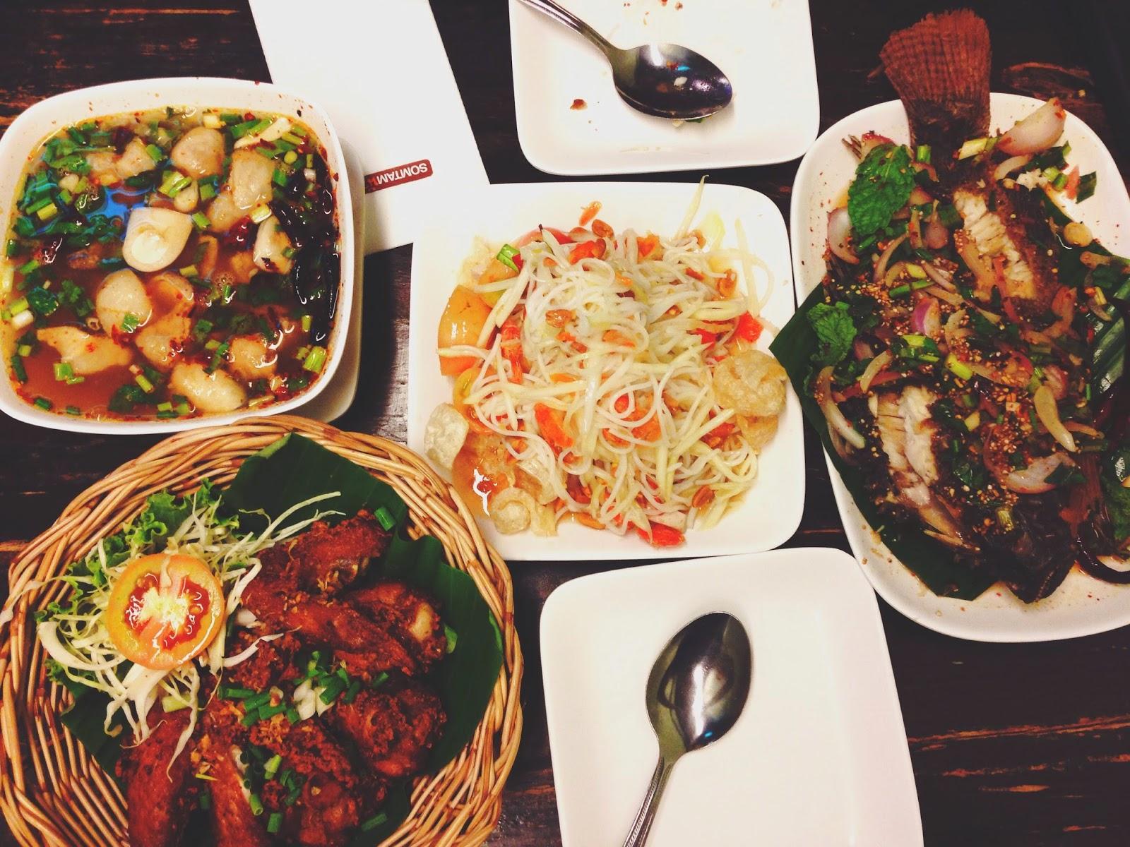 Som Tam Nua Restuarant Siam Square Bangkok