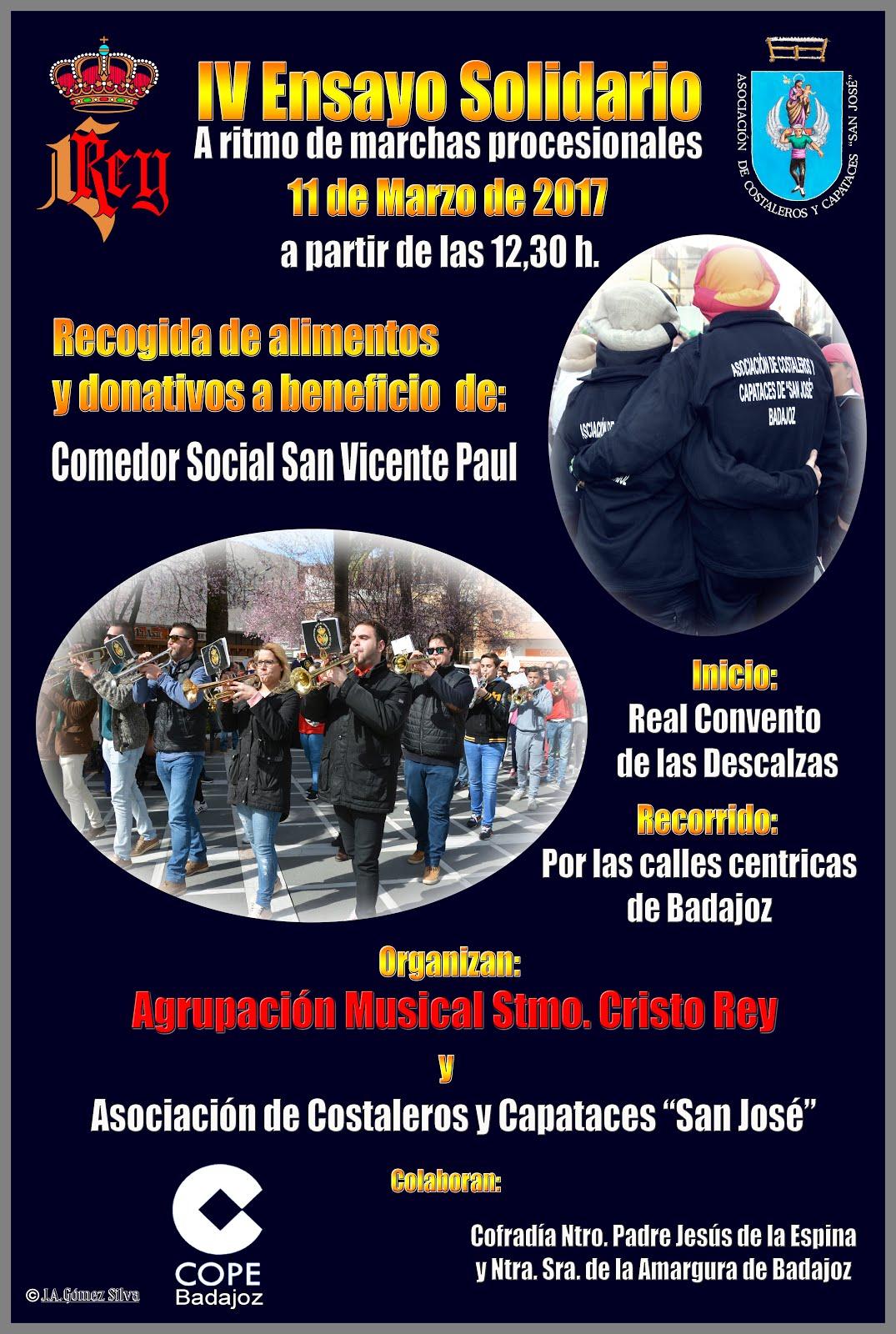 Cartel IV Ensayo Solidario