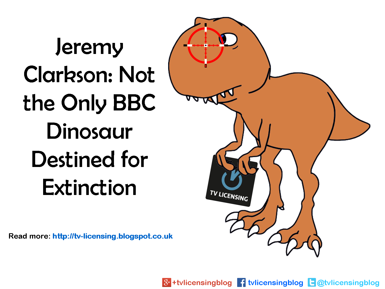 Jeremy Clarkson BBC Dinosaur